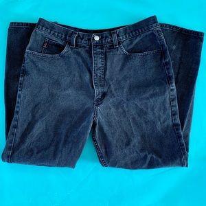 "Vintage Guess high-rise denim ""mom"" jeans, 34"